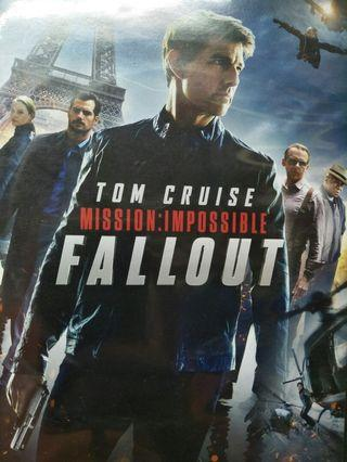 🚚 Mission impossible fallout DVD