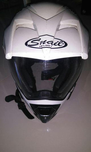 Helm Snail Supermoto Motocross