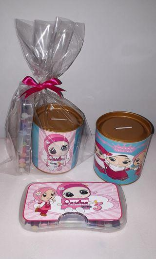 Customised Cute Hijab Kids goodie packs