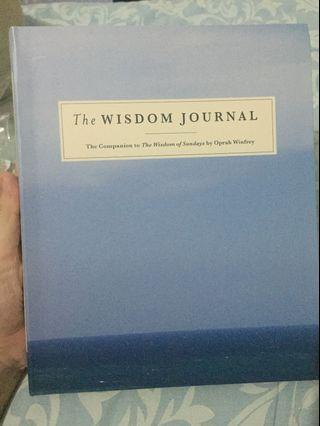 The Wisdom of Journal by Oprah Winfrey