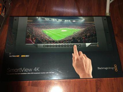 全新 Blackmagic smartview 4k monitor 17吋