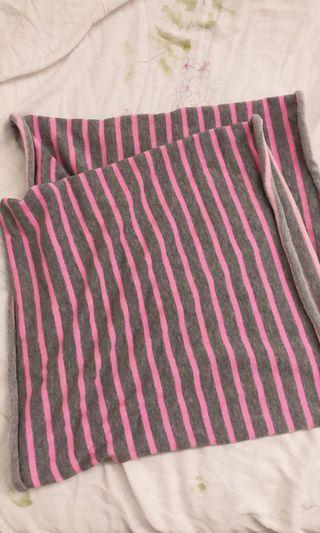 🚚 GAP圍巾-粉灰