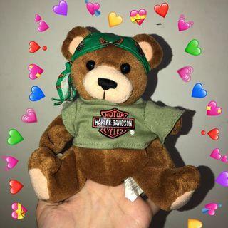 VINTAGE HARLEY DAVIDSON TEDDY BEAR古物小熊🐻