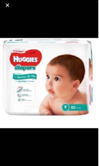 🚚 FLASHSALE: Huggies Platinum Diapers