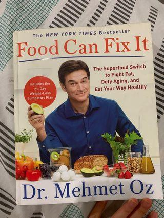 Food can fix it by Dr Mehmet Oz WITH SIGNATURE