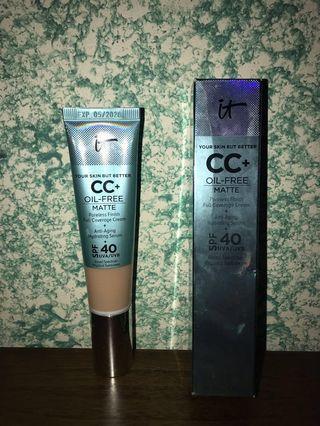 It Cosmetic CC Cream Oil Free Matte