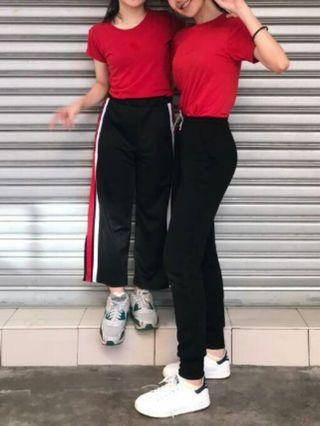 Uniqlo Basic Red Top