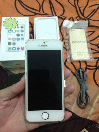 iPhone 5s white 64gb
