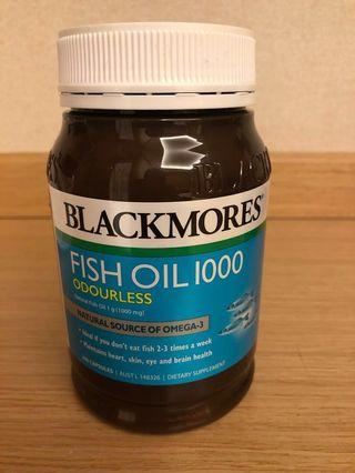 Blackmores Odourless Fish Oil 1000mg ( 200 tablets)