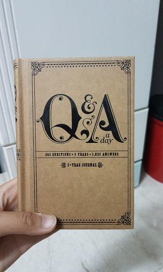 BN Potter Style 5 Year Journal (Q&A a day)