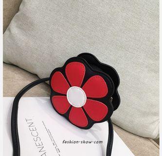 🚚 Fresh flowers children's bag female baby cute sling bag 2019 Princess shoulder bag children's accessories small bag tide