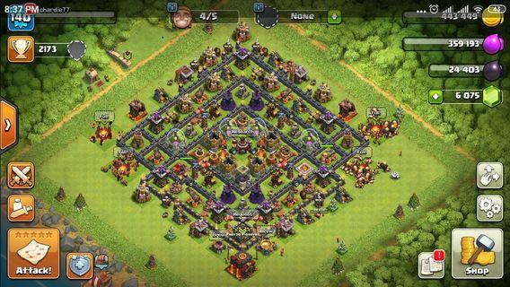 Clash of Clan Account TH 10
