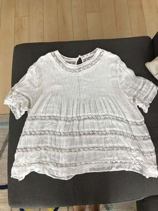 Wilfred Blouse from Aritzia Size Large