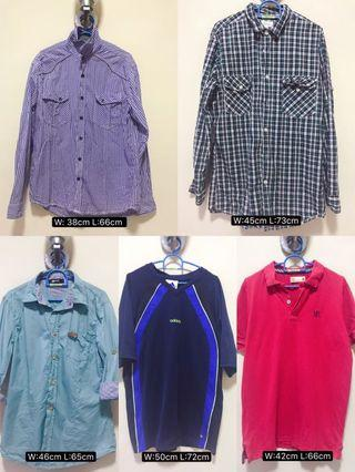 Man clothes(2 for rm1)