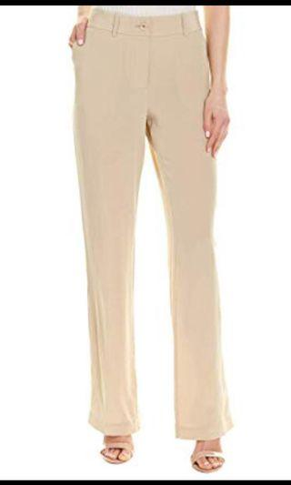 EQUIPMENT 100% Silk 'Lita' Beige Dress Pants AU 10 12 French Designer