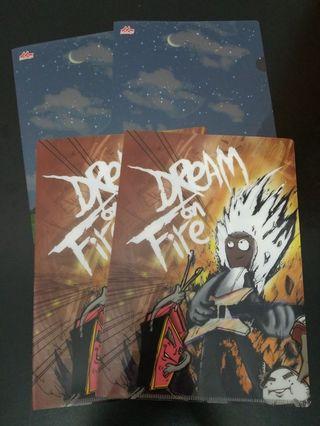 Dream On Fire 雜錦A5文件夾 x 4