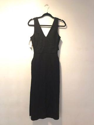 Wilfred Ecoulement Black Dress
