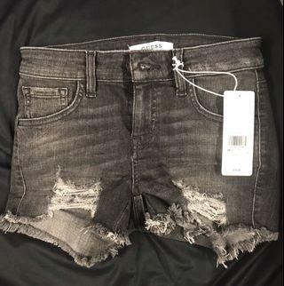 Guess Black Distress shorts