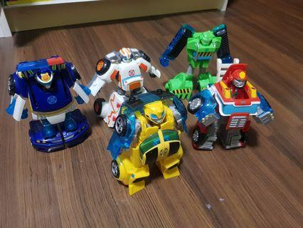 Transformers - 1 step transform Optimus Prime Bumble Bee