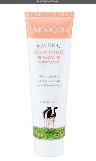Moogoo Soothing MSM moisturiser
