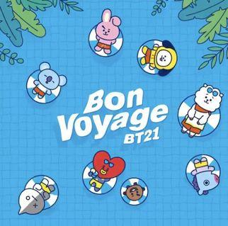 [PREORDER] BT21 BON VOYAGE SUMMER COLLECTION OFFICIAL GOODS