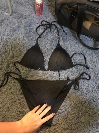 H&M Push up Black Bikini