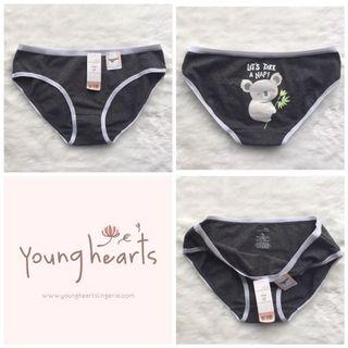 Panty Branded younghearts original sale catoon soft