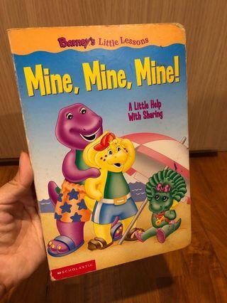 🚚 Mine, Mine, Mine! - Barney's Little Lessons