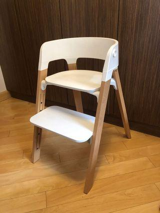 Stokke Steps High Chair 多功能餐椅