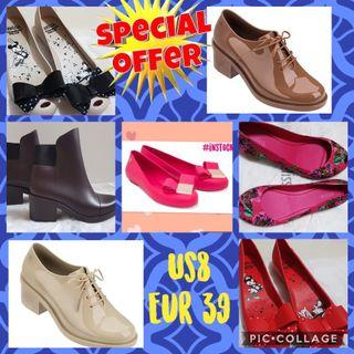 $5 off Promotion for Melissa shoes US 8 Eur 39 in stock