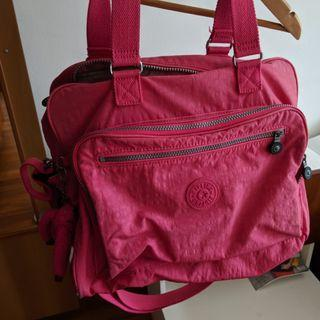 Kippling  pink diaper bag