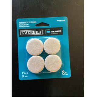 Everbilt Self Adhesive 膠粘劑 1 1/2 inches 28 mm (四個)