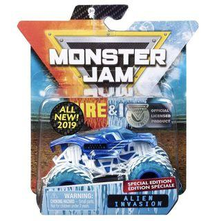 🚚 Monster Jam Fire & Ice - Alien 1:64