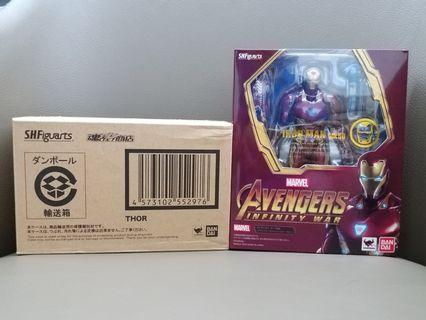 S.H.Figuarts Avengers Infinity War 漫威復仇者系列 無限之戰 Iron Man 鐵甲奇俠 Mark 50 及 Thor 雷神 [一套兩盒靚盒SHF]