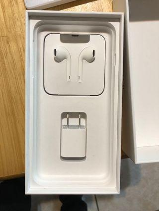 蘋果Apple iPhone 7/8/XPlus 耳機 apple original headset Lightening