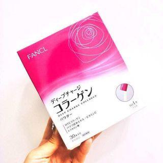 健康飲品 fancl collagen drink 30 包