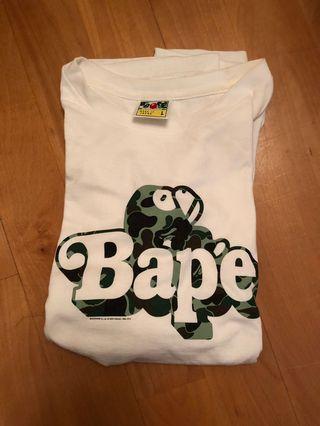 Bape a bathing ape tee size L