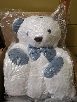 (真空包裝) 白色 泰迪熊大公仔 全新現貨 日本正版景品 夾公仔 toreba my hug big teddy