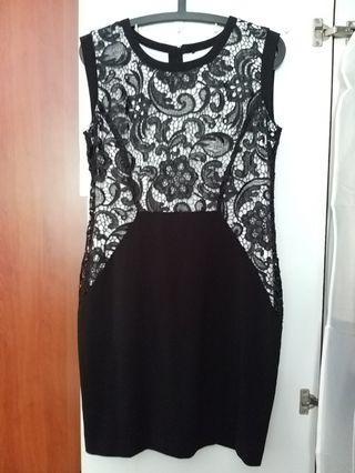 bYSI Black Lace Dress