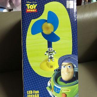 Toy story Led 座枱風扇 Disney 迪士尼 巴斯光年
