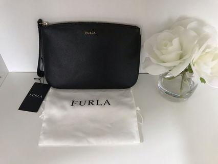 New Authentic Furla Wristlet