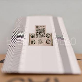Lens Autofocus Calibration Card