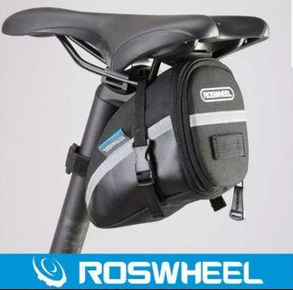 ***In-Stock = Pouch Saddle Bag Cycling Seat Pouch ROSWHEEL 1.2L Portable Waterproof