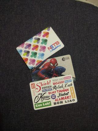 3 MRT cards