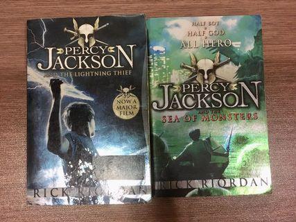 Percy Jackson Series #1 & #2