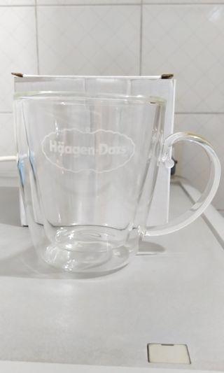 Haagen-Dazs雙層玻璃杯