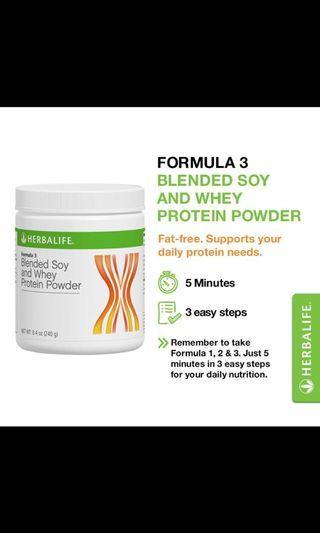 Herbalife protein powder