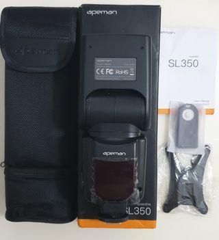 BNIB- APEMAN SL350 Speedlite Camera Flash