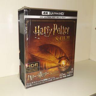 二手 日版 Harry Potter 哈利波特 4K +BD Box Set