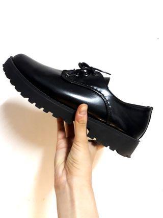 英倫復古休閒鞋